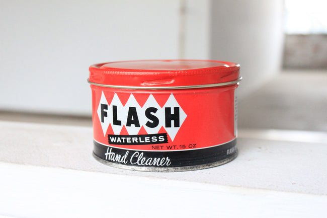 Flash Hand Cleaner Tin Candle