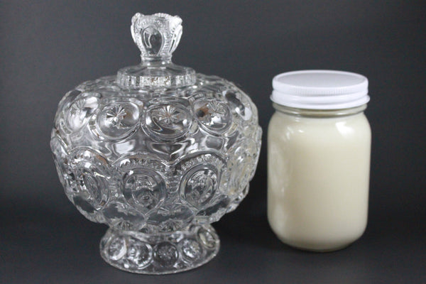 Pick the Scent - Clear Moon & Stars Candy Dish Candle