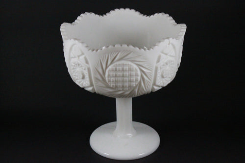 Pick the Scent - Milk Glass Fruit Bowl Candle