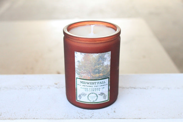 Midwest Fall Candle