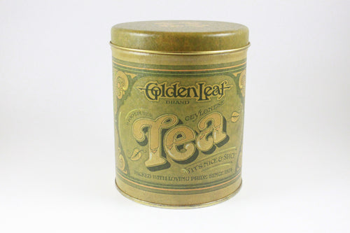 Pick the Scent - Golden Leaf Tea Tin Candle