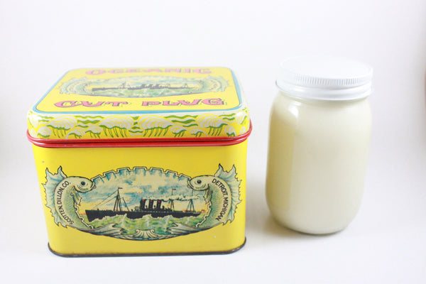 Pick the Scent -  Oceanic Cut Plug Tin Candle