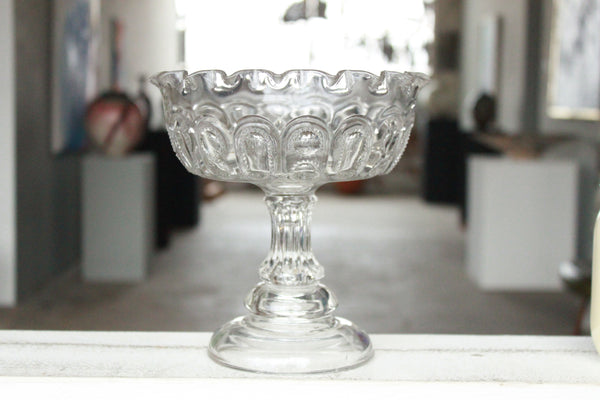 Pick the Scent - Clear Stars Pedestal Bowl Candle