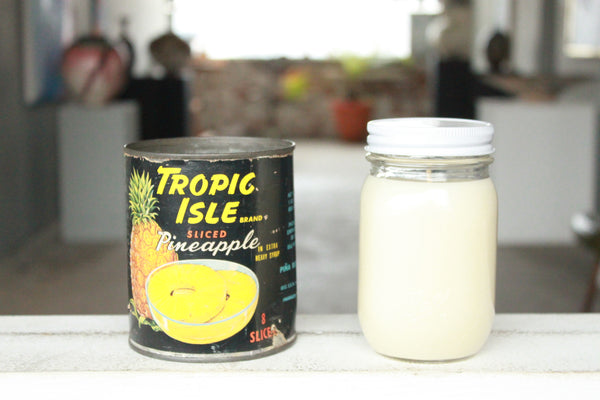 Pick the Scent - Tropic Isle Pineapple Tin Candle