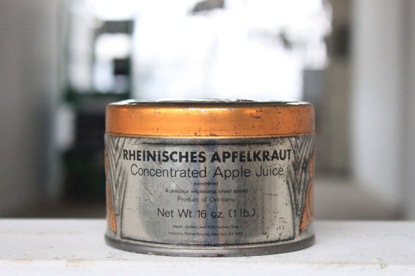 Apfelkraut Apple Juice Tin Candle