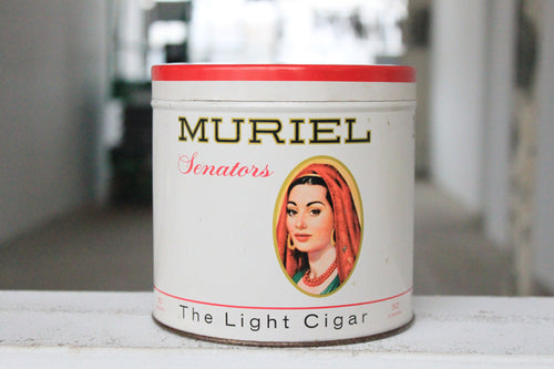 Muriel Cigar Tin Candle