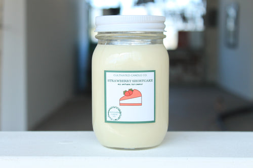 Strawberry Shortcake Candle