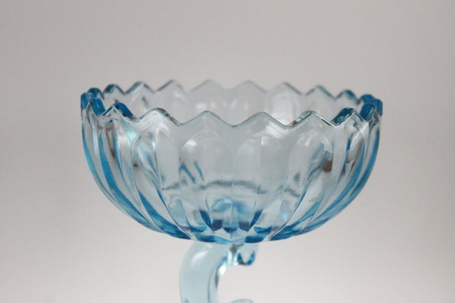 Pick the Scent -  Light Blue Lotus Blossom Candy Dish Candle