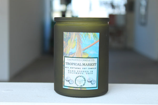 Tropical Market Candle