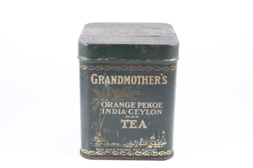 Pick the Scent -  Green Grandmother's Tea Tin Candle