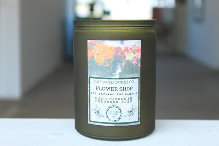 Dried Eucalyptus Candle