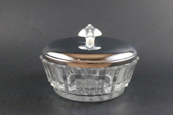 Pick the Scent - Clear & Metal Detailed Dish Candle