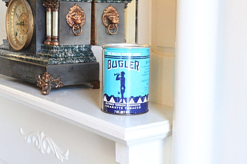 Bugler Tobacco Tin Candle