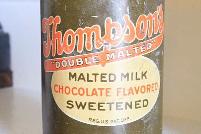Thompson's Malted Chocolate Milk Tin Candle