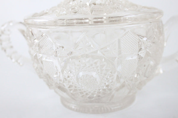 Pick the Scent - Clear Detailed Sugar Bowl Candle
