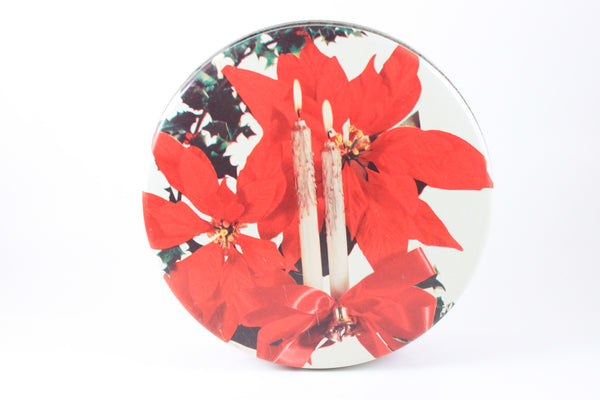 Pick the Scent - Mid-Century Candles & Poinsettias Holiday Tin Candle