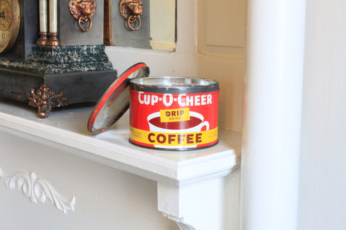 Cup O' Cheer Coffee Tin Candle