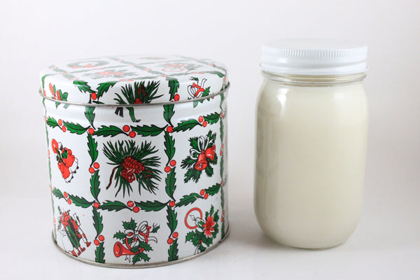 Pick the Scent - Greenery & Mistletoe Holiday Tin Candle