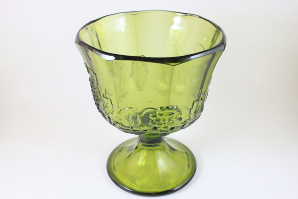 Pick the Scent - Olive Green Harvest Grape Glass Candle