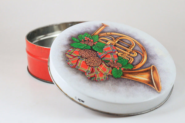 Pick the Scent - French Horn Holiday Tin Candle