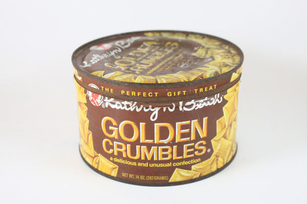 Pick the Scent - Golden Crumbles Candy Tin Candle