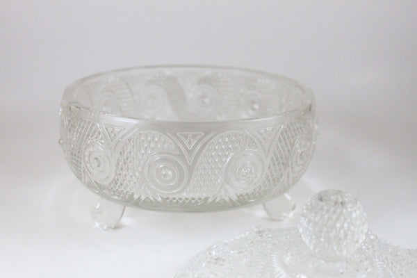 Pick the Scent - Detailed Clear Avon Candy Dish Candle