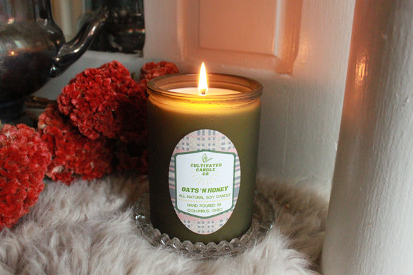 Oats 'n Honey Candle