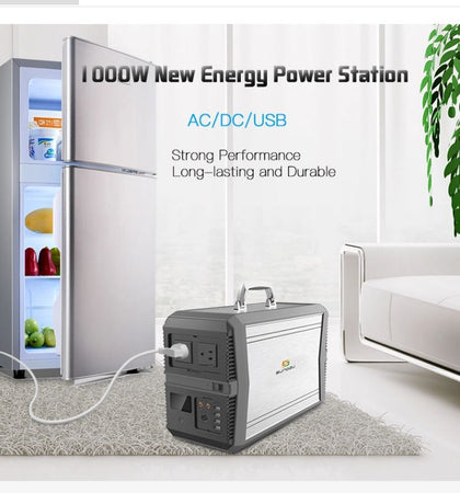 1000W Portable, Emergency Solar Power Generator/Power Station