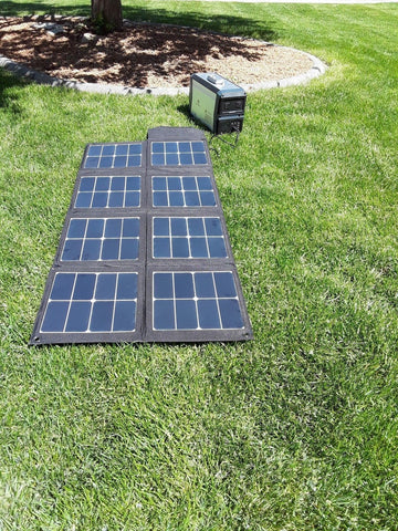 100W Portable and Foldable Solar Panel