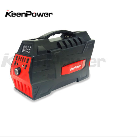 500W portable solar powered generator Lithium-ion battery pack
