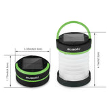 Rechargeable Solar Collapsible Camping Lantern with Phone Charger