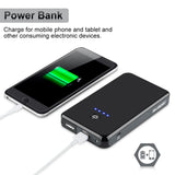 Emergency Light-weight 8000mAh Car Battery Jump Starter Plus Device Charger