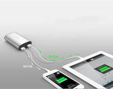 Ultra-Thin Portable Powerbank with LED Flashlight