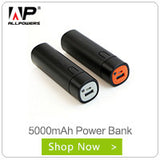 Portable Pocket Power Bank with LED LIght