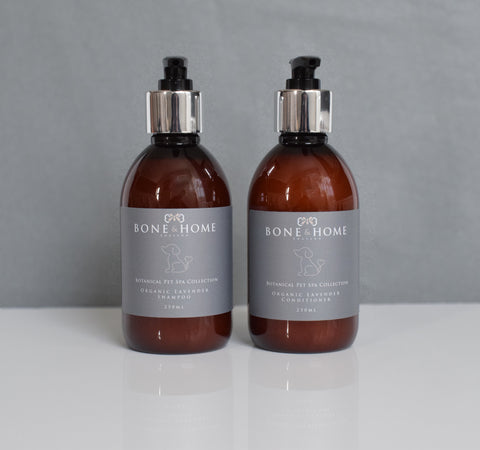 Organic Lavender Dog Shampoo & Conditioner 250ml