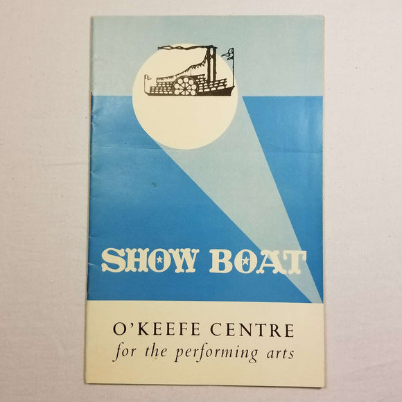 O'Keefe Centre Playbill: Showboat (1960s)
