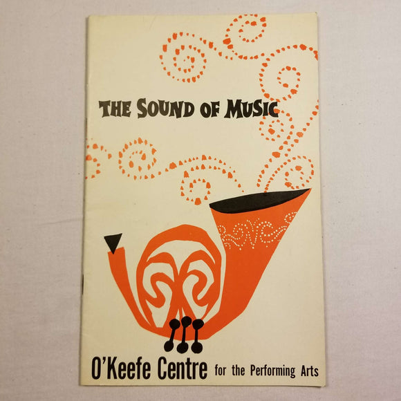 O'Keefe Centre Playbill: The Sound of Music (1960s)