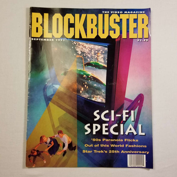Blockbuster Video Magazine: Sci-Fi Special (Sept, 1991)