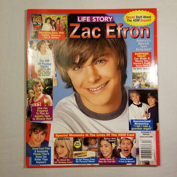Life Story: Zac Efron Collector's Edition (Aug, 2006)