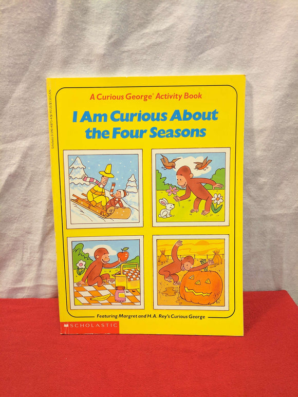 Curious George Four Seasons Activity Book