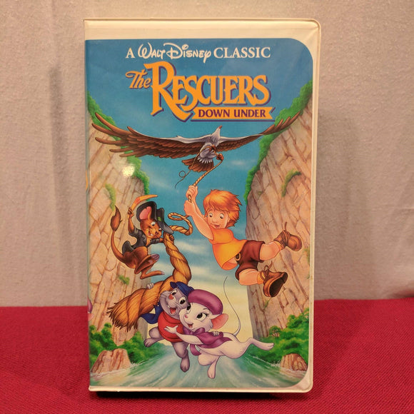 The Rescuers Down Under (Black Diamond)