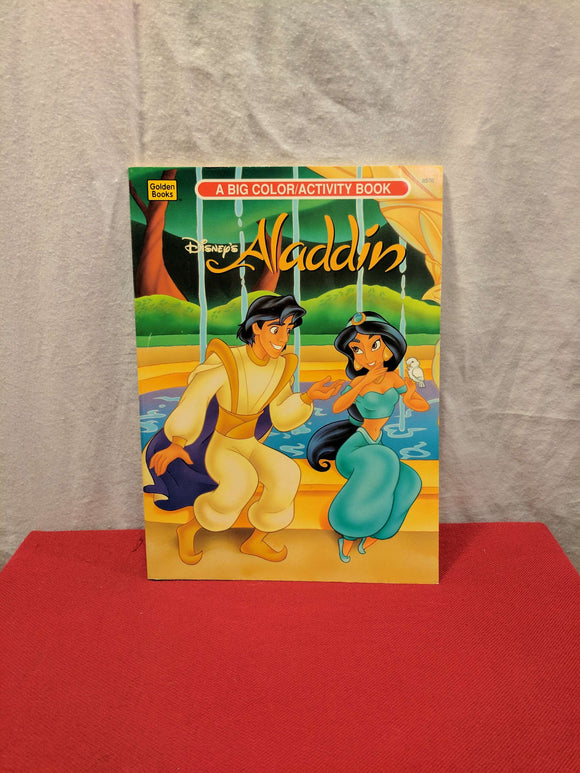 Aladdin Colouring & Activity Book