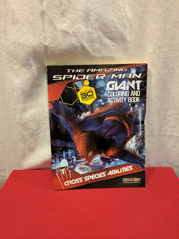Spider Man Colouring & Activity Book