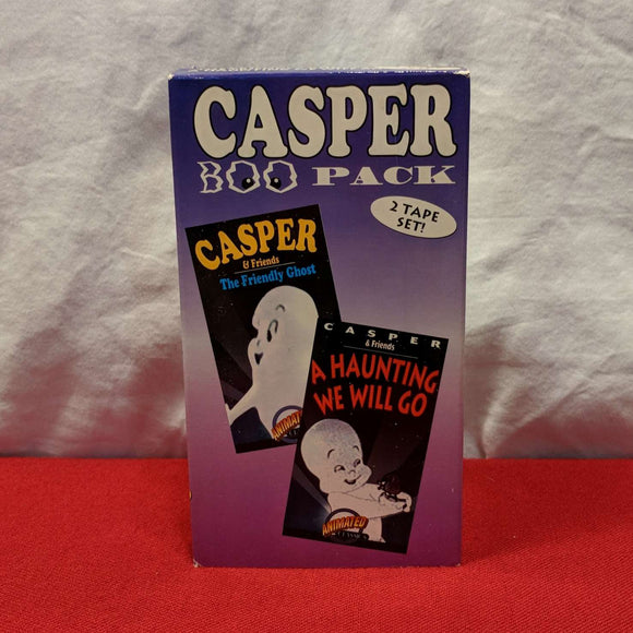 Casper Boo Pack (2 Tape Set)