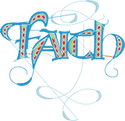 Word Embroidery Designs (FAITH) - IC1derful Designs