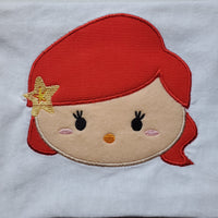 Tsum Tsum Little Mermaid Embroidery Applique Designs Download