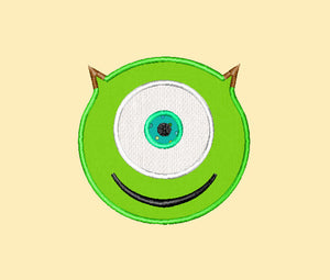 Monster Inc Machine Embroidery Applique Designs - IC1derful Designs