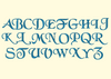BX Fonts Embrilliance for Machine Embroidery Design CHANCERY 2.5 Inch - IC1derful Designs
