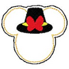 "Mickey Mouse Embroidery Applique Designs ""PILGRIM Boy FELTIE"" - IC1derful Designs"