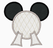 "Mickey Mouse Embroidery Applique Designs ""EPCOT"" - IC1derful Designs"